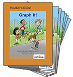 Mathology Little Books - Data Management and Probability: Graph It! (6 Pack with Teacher's Guide)