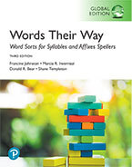 Picture of Words Their Way: Word Sorts for Syllables and Affixes Spellers, Global Edition