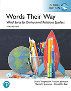 Picture of Words Their Way: Word Sorts for Derivational Relations Spellers, Global Edition
