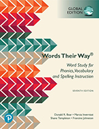 Picture of Words Their Way: Word Study for Phonics, Vocabulary, and Spelling Instruction, Global Edition, 7th Edition