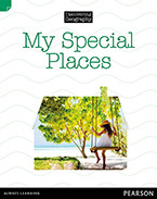 Discovering Geography (Lower Primary Nonfiction Topic Book): My Special Places (Reading Level 21/F&P Level L)