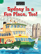Discovering Geography (Lower Primary Fiction Topic Book): Sydney is a Fun Place, Too! (Reading Level 3/F&P Level C)