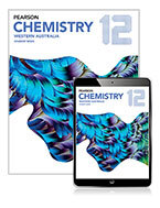 Pearson Chemistry 12 Western Australia Student Book with eBook