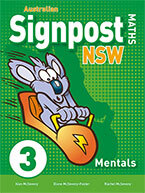 Picture of Australian Signpost Maths NSW 3 Mentals