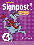 Picture of Australian Signpost Maths NSW 4 Mentals