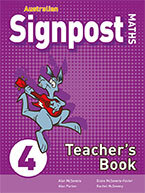 Australian Signpost Maths 4 Teacher's Book