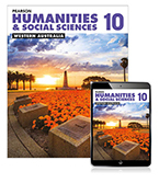 Pearson Humanities and Social Sciences Western Australia 10 Student Book with eBook
