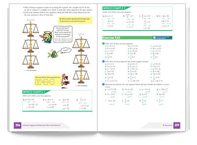 Download sample pages from Australian Signpost Mathematics NSW 8 Student Book