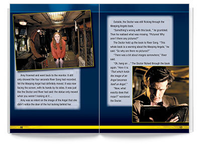 Sample spread from Bug Club - Doctor Who and the Time of the Angels