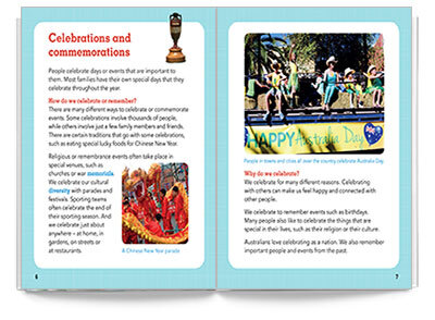 Download the sample pages for Pearson English 3-Australia Celebrates
