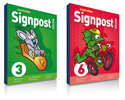 Australian signpost maths student activity books