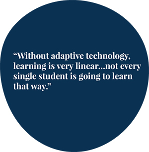 Adaptive learning quote