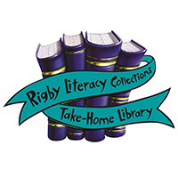 Rigby Literacy Collections Take-Home Library Logo