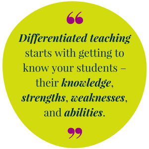 Differentiated Learning Quote