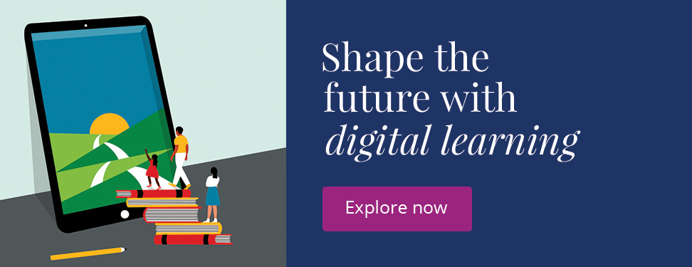 Shape the future with digital learning