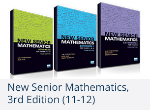 New senior mathematics, 3rd edition