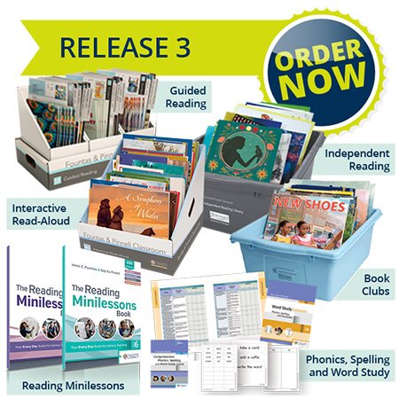 Fountas and Pinnell Classroom release 3