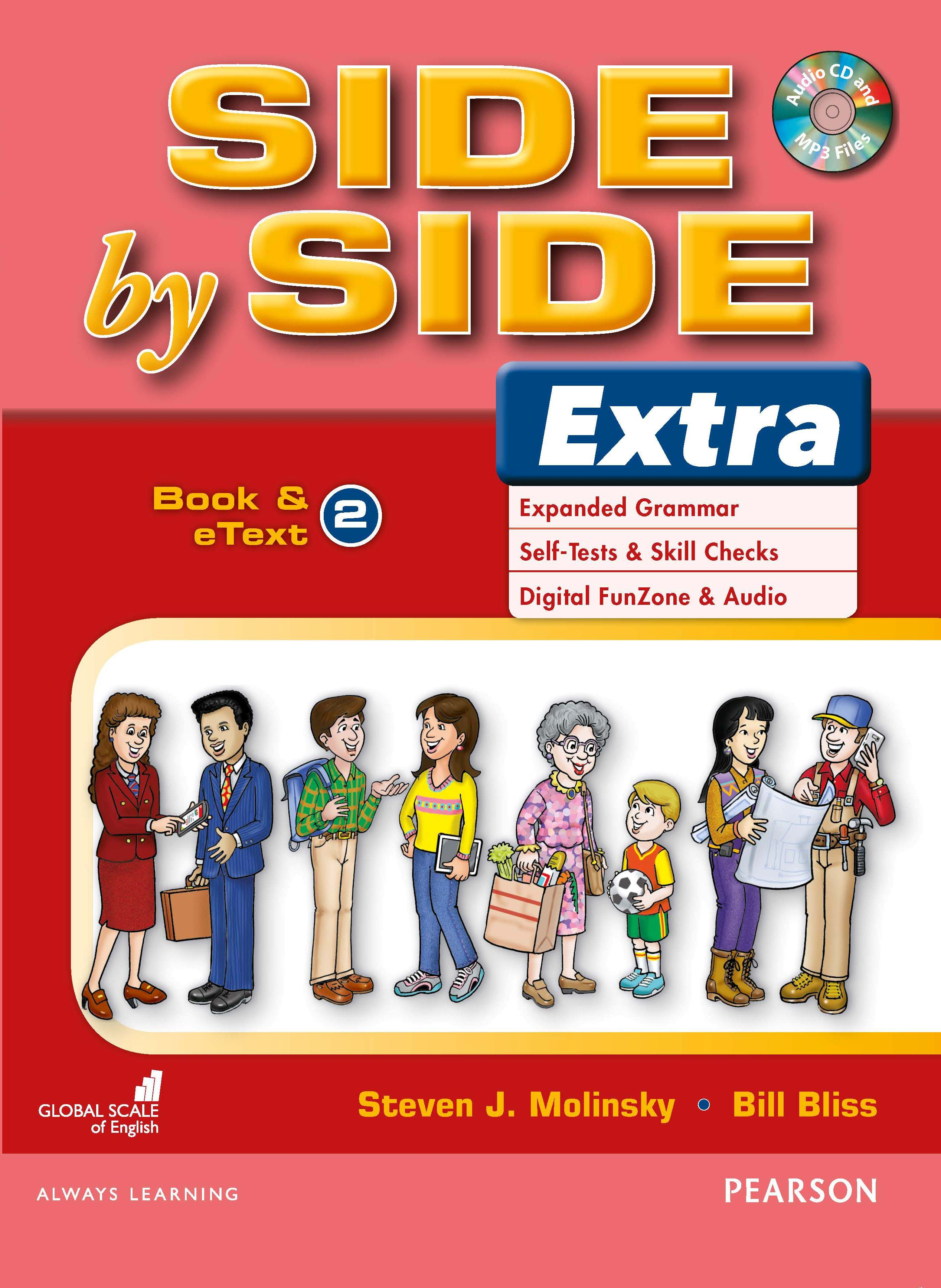 English Course Side by Side Extra Student Book cover Level 2
