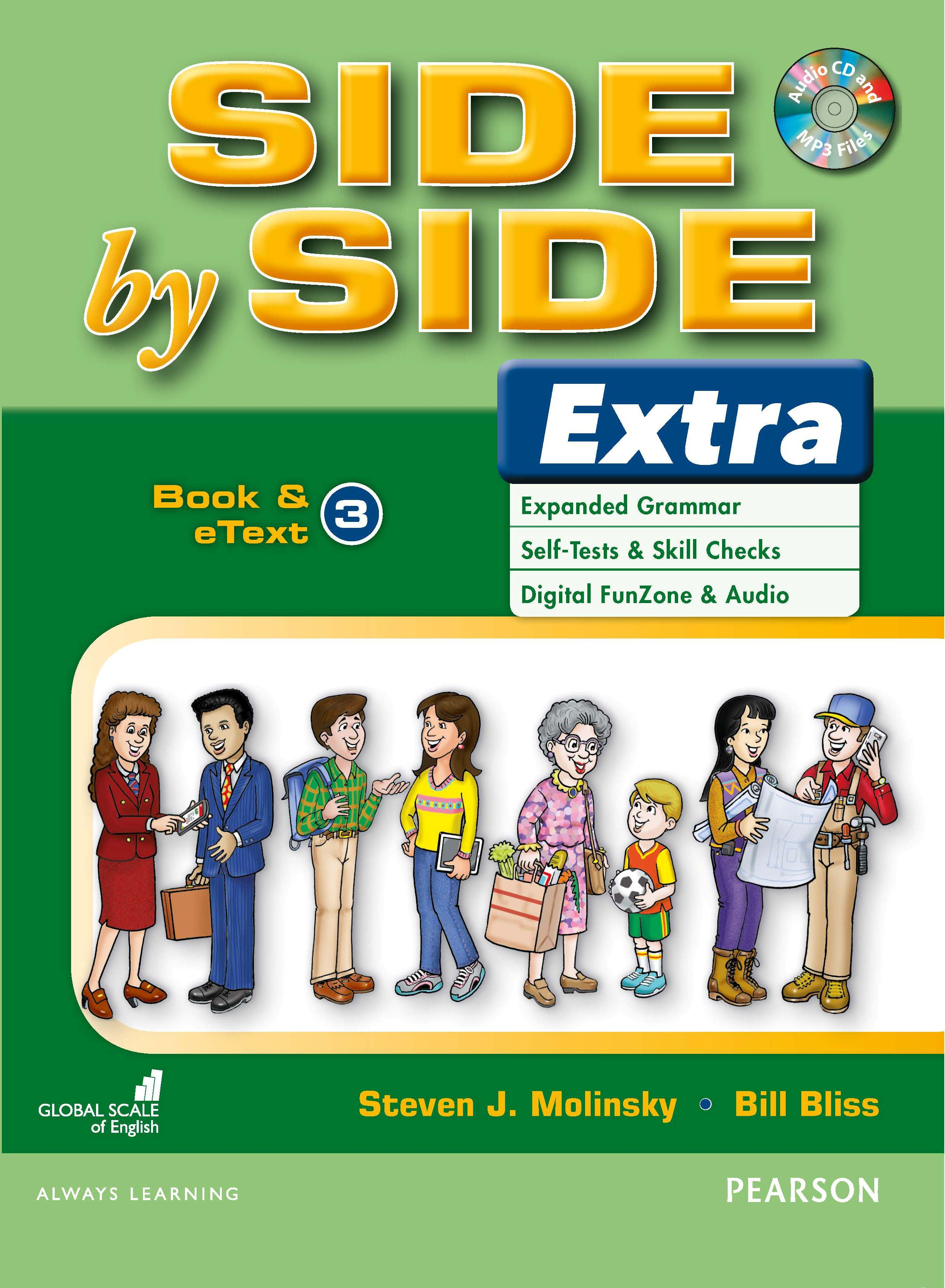 English Course Side by Side Extra Student Book cover Level 3