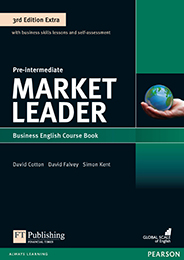 Market Leader Pre-intermediate cover