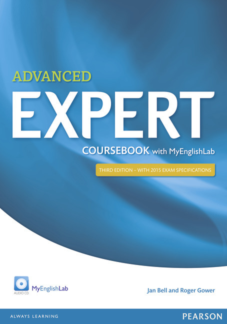 Pearson ELT English Advanced Expert Cover