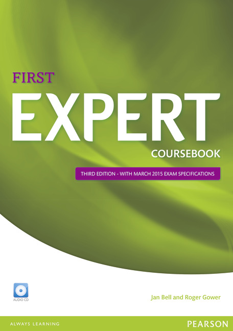 Pearson ELT English First Expert Cover