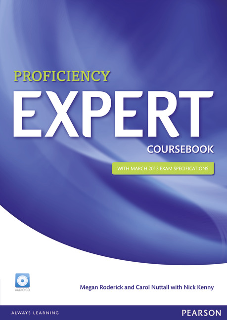 Pearson ELT English Proficiency Expert Cover