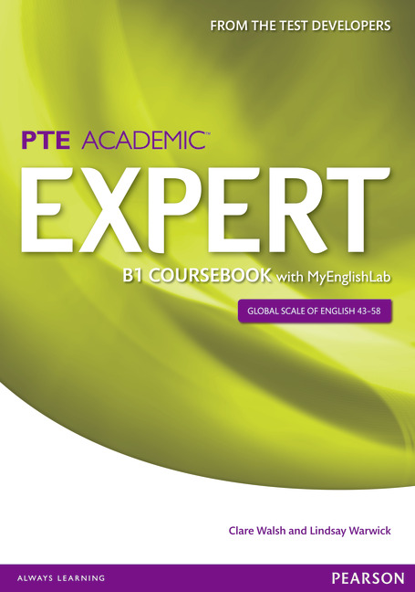 PTE Expert book cover