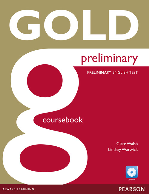 Gold coursebook Student book cover
