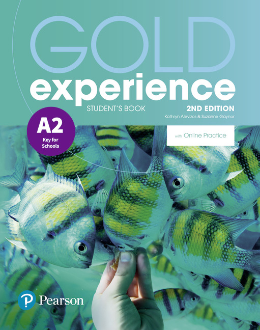 Gold Experience A2 2nd edition cover