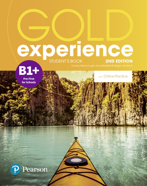 Gold Experience B1+ 2nd edition cover
