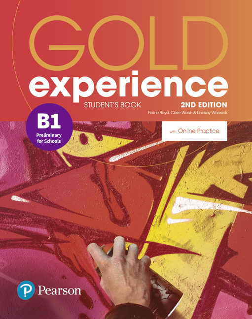 Gold Experience B1 2nd edition cover
