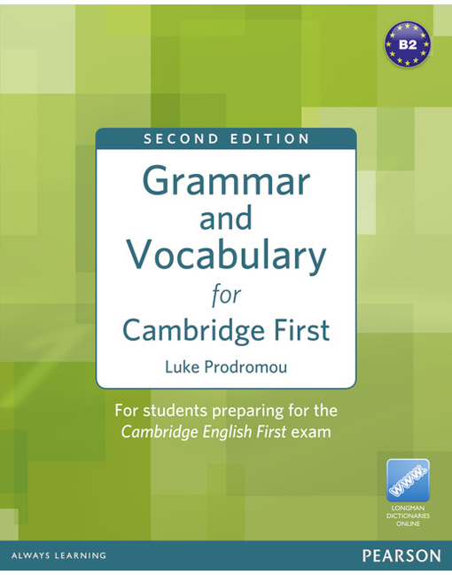 grammar vocabulary cambridge first