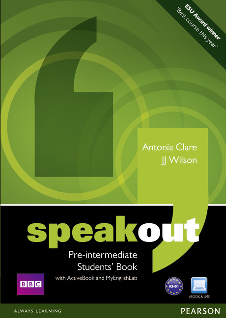 Speakout 1e pre-intermediate cover