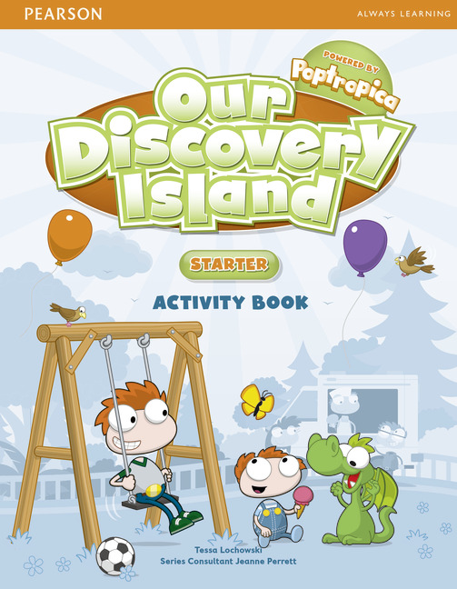 our discovery island activity book