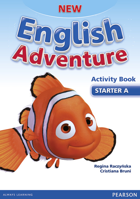 new english adventure activity book