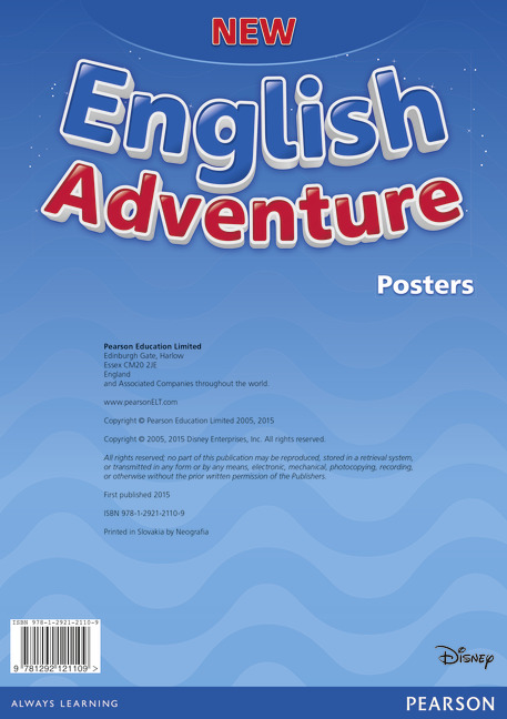 new english adventure posters