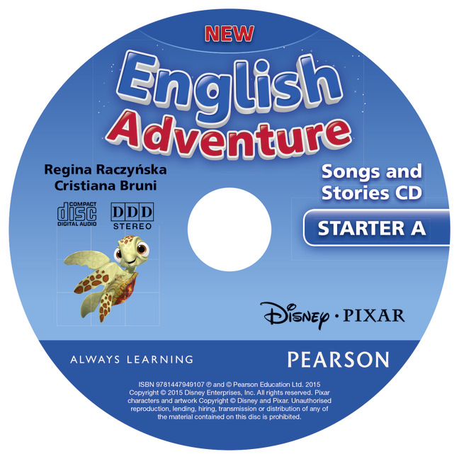 new english adventure songs cd