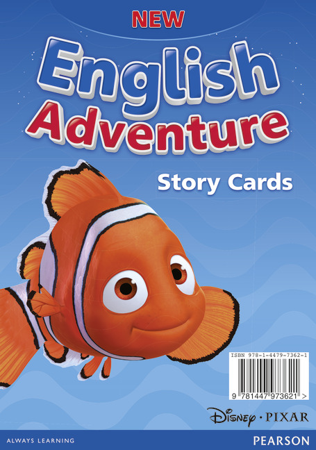 new english adventure story cards