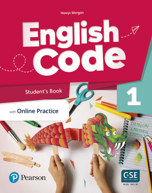 English Code Student's book cover level 1