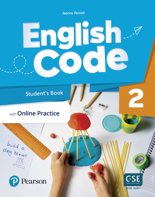 English Code Student's book cover level 2