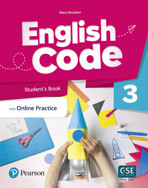 English Code Student's book cover level 3