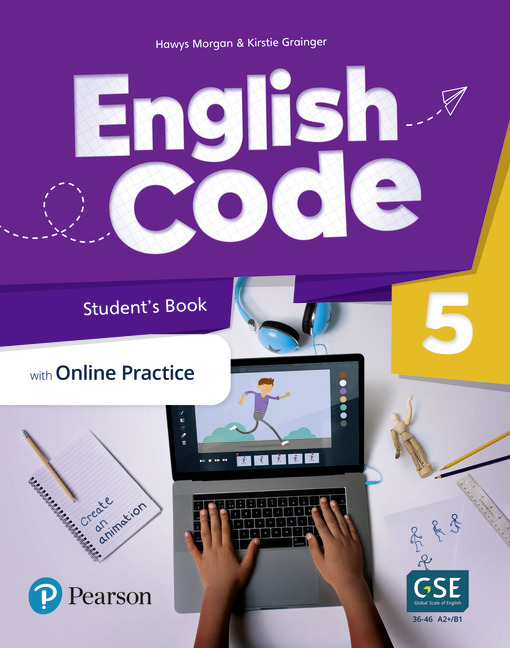 English Code Student's book cover level 5