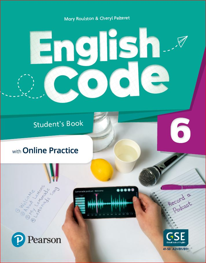 English Code Student's book cover level 6