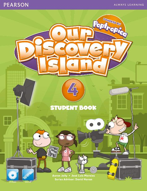 our discovery island level 4 student book