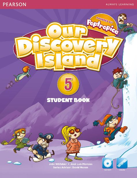 our discovery island level 5 student book