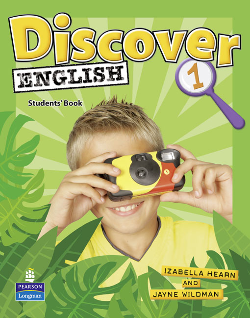 English course Discover English level 1 cover