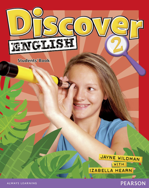 English course Discover English level 2 cover