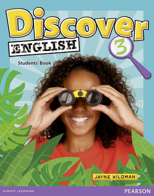 English course Discover English level 3 cover