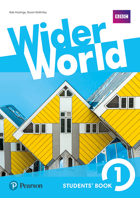 Wider World level1 book cover